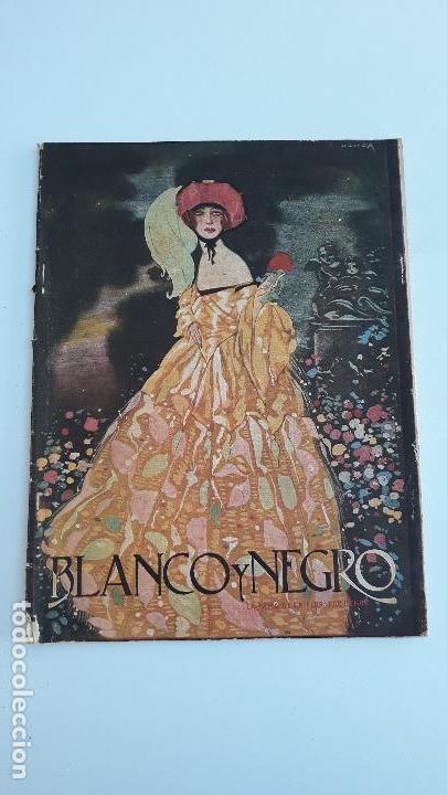 REVISTA ILUSTRADA BLANCO Y NEGRO, NUMERO 1621, 11 JUNIO 1922. W (Coleccionismo - Revistas y Periódicos Modernos (a partir de 1.940) - Blanco y Negro)