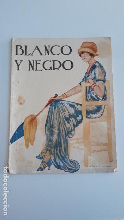 REVISTA ILUSTRADA BLANCO Y NEGRO, NUMERO 1632, 27 AGOSTO 1922. W (Coleccionismo - Revistas y Periódicos Modernos (a partir de 1.940) - Blanco y Negro)