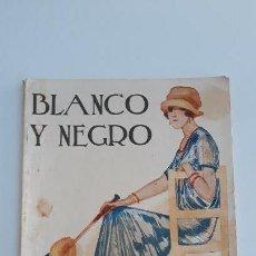 Coleccionismo de Revista Blanco y Negro: REVISTA ILUSTRADA BLANCO Y NEGRO, NUMERO 1632, 27 AGOSTO 1922. W. Lote 142565930