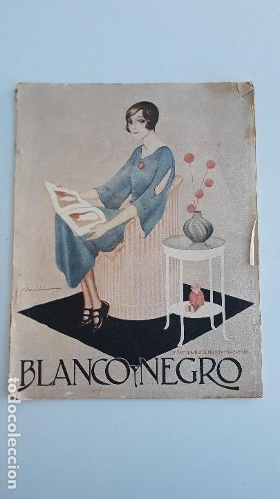 REVISTA ILUSTRADA BLANCO Y NEGRO, NUMERO 1618, 21 ENERO 1922. W (Coleccionismo - Revistas y Periódicos Modernos (a partir de 1.940) - Blanco y Negro)