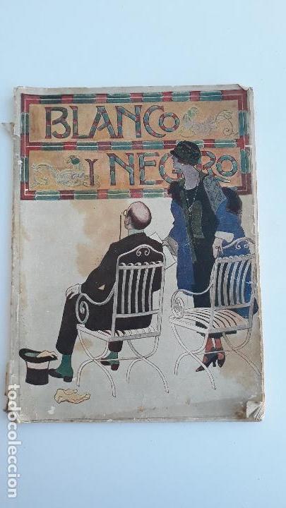 REVISTA ILUSTRADA BLANCO Y NEGRO, NUMERO 1777, 7 JUNIO 1925. W (Coleccionismo - Revistas y Periódicos Modernos (a partir de 1.940) - Blanco y Negro)