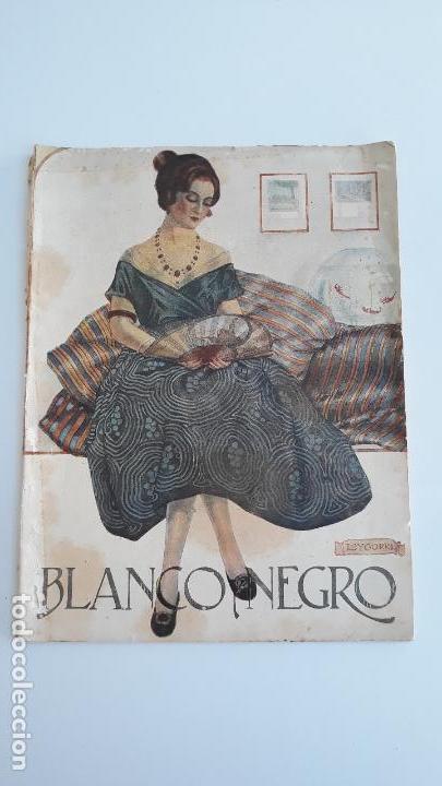REVISTA ILUSTRADA BLANCO Y NEGRO, NUMERO 1640, 22 OCTUBRE 1922. W (Coleccionismo - Revistas y Periódicos Modernos (a partir de 1.940) - Blanco y Negro)