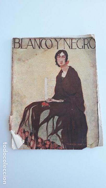REVISTA ILUSTRADA BLANCO Y NEGRO, NUMERO 1605, 19 FEBRERO 1922. W (Coleccionismo - Revistas y Periódicos Modernos (a partir de 1.940) - Blanco y Negro)