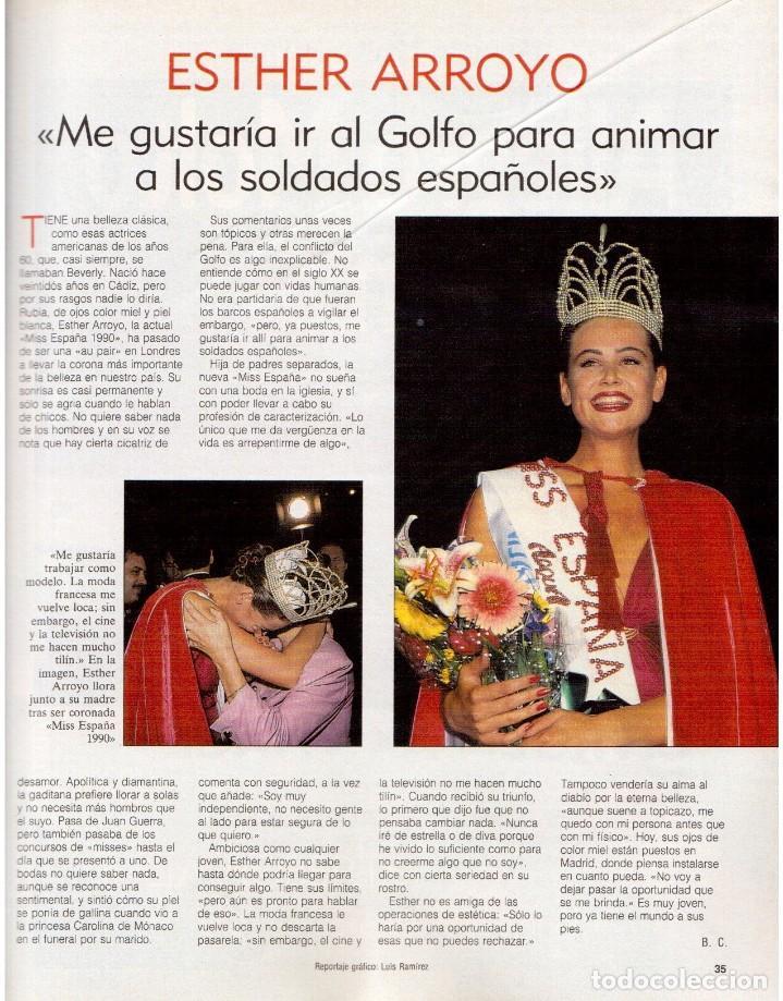 Coleccionismo de Revista Blanco y Negro: 1990. ESTHER ARROYO. JULIA ROBERTS. TAM TAM GO !. CONSUELO BERLANGA. MABEL LOZANO. PEPA FLORES. VER - Foto 4 - 142921486