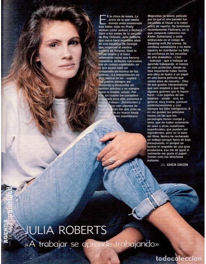 Coleccionismo de Revista Blanco y Negro: 1990. ESTHER ARROYO. JULIA ROBERTS. TAM TAM GO !. CONSUELO BERLANGA. MABEL LOZANO. PEPA FLORES. VER - Foto 5 - 142921486