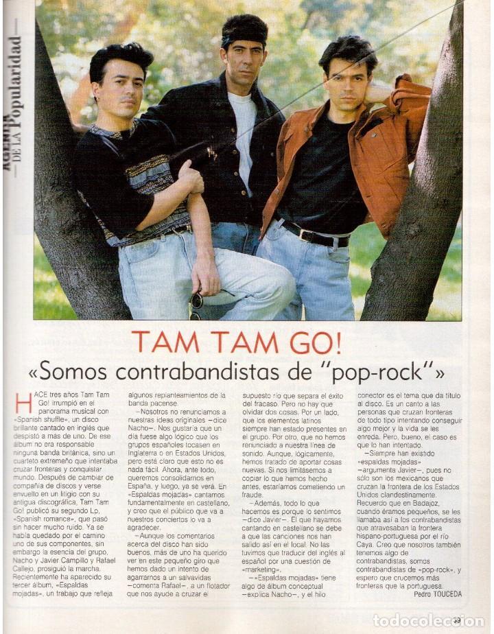 Coleccionismo de Revista Blanco y Negro: 1990. ESTHER ARROYO. JULIA ROBERTS. TAM TAM GO !. CONSUELO BERLANGA. MABEL LOZANO. PEPA FLORES. VER - Foto 6 - 142921486
