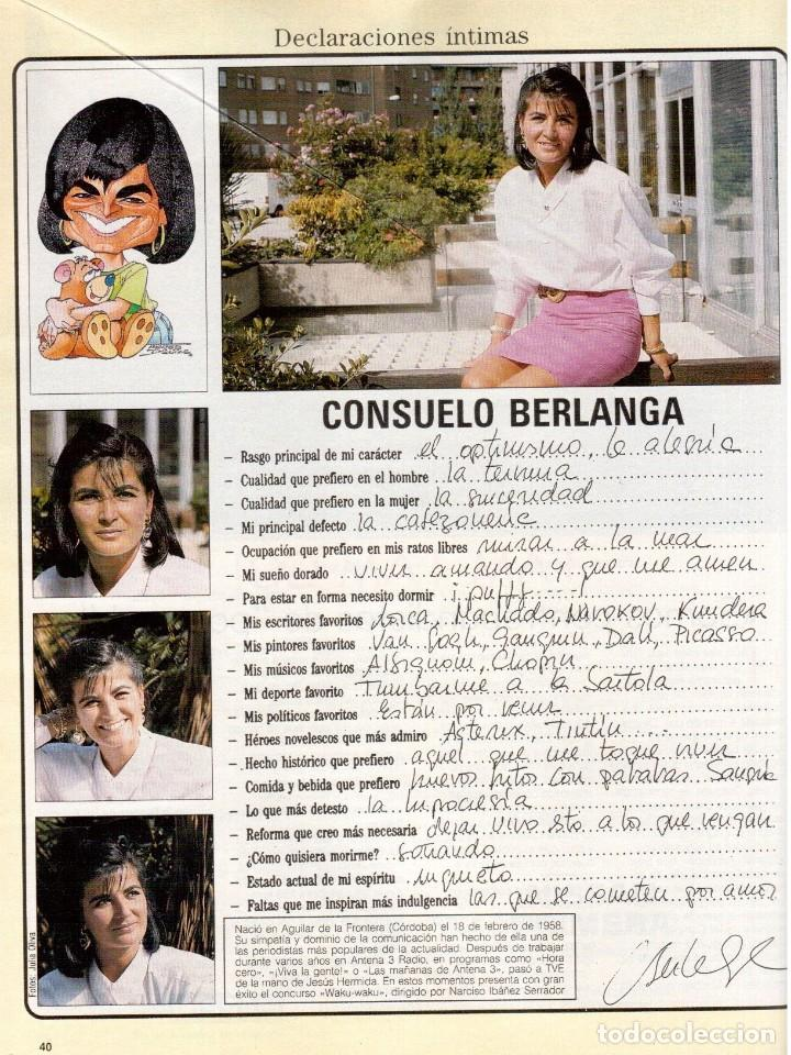 Coleccionismo de Revista Blanco y Negro: 1990. ESTHER ARROYO. JULIA ROBERTS. TAM TAM GO !. CONSUELO BERLANGA. MABEL LOZANO. PEPA FLORES. VER - Foto 7 - 142921486