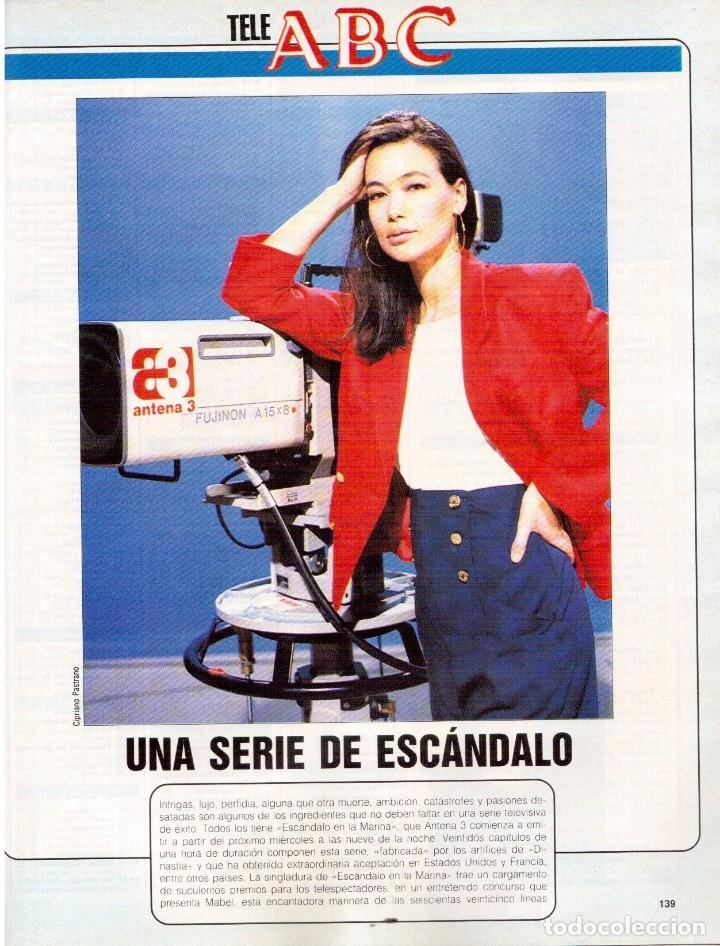 Coleccionismo de Revista Blanco y Negro: 1990. ESTHER ARROYO. JULIA ROBERTS. TAM TAM GO !. CONSUELO BERLANGA. MABEL LOZANO. PEPA FLORES. VER - Foto 8 - 142921486