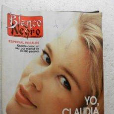 Coleccionismo de Revista Blanco y Negro: BLANCO Y NEGRO SEMANARIO DE ABC Nº 3833 - DICIEMBRE 1992 - AMPARO LARRAÑAGA - ANTONIO AMAYA . Lote 143328410