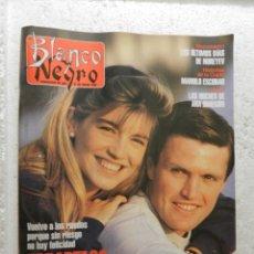 Coleccionismo de Revista Blanco y Negro: BLANCO Y NEGRO SEMANARIO DE ABC Nº 3840 - ENERO 1993 - DEMI MOORE - EN CASA DE MARIA OSTIZ . Lote 143328662