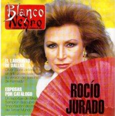Coleccionismo de Revista Blanco y Negro: 1992. ROCÍO JURADO. LAURA DERN. ESTHER DEL PRADO. BENITO FLORO. CONCHA VELASCO. VER SUMARIO.. Lote 143424054