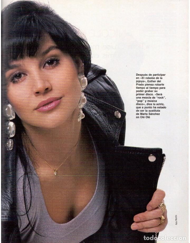 Coleccionismo de Revista Blanco y Negro: 1992. ROCÍO JURADO. LAURA DERN. ESTHER DEL PRADO. BENITO FLORO. CONCHA VELASCO. VER SUMARIO. - Foto 4 - 143424054