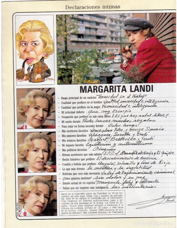 Coleccionismo de Revista Blanco y Negro: 1992. ROCÍO JURADO. LAURA DERN. ESTHER DEL PRADO. BENITO FLORO. CONCHA VELASCO. VER SUMARIO. - Foto 5 - 143424054