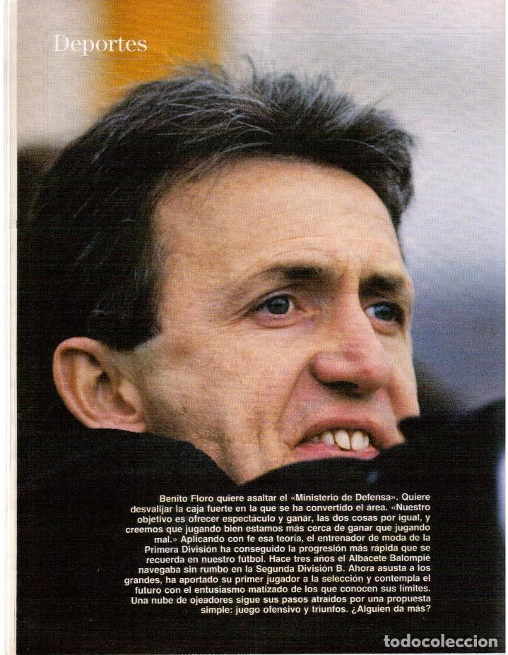 Coleccionismo de Revista Blanco y Negro: 1992. ROCÍO JURADO. LAURA DERN. ESTHER DEL PRADO. BENITO FLORO. CONCHA VELASCO. VER SUMARIO. - Foto 6 - 143424054
