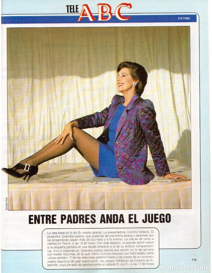 Coleccionismo de Revista Blanco y Negro: 1992. ROCÍO JURADO. LAURA DERN. ESTHER DEL PRADO. BENITO FLORO. CONCHA VELASCO. VER SUMARIO. - Foto 10 - 143424054