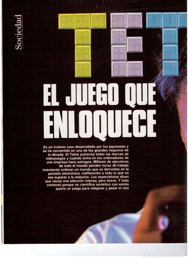 Coleccionismo de Revista Blanco y Negro: 1992. XUXA. ANGELA MOLINA. CRISTINA HIGUERAS. CRISTINA ROSENVINGE. SARA MONTIEL. VER SUMARIO. - Foto 3 - 191149530