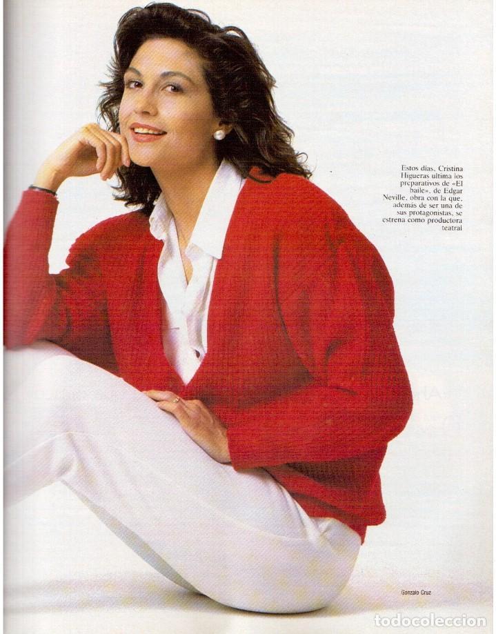 Coleccionismo de Revista Blanco y Negro: 1992. XUXA. ANGELA MOLINA. CRISTINA HIGUERAS. CRISTINA ROSENVINGE. SARA MONTIEL. VER SUMARIO. - Foto 5 - 191149530