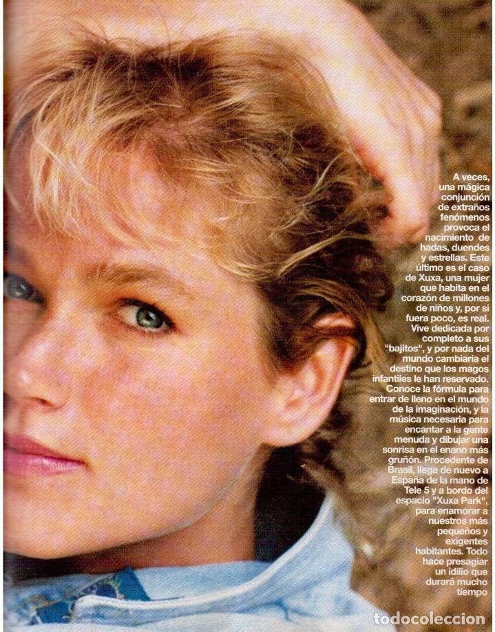 Coleccionismo de Revista Blanco y Negro: 1992. XUXA. ANGELA MOLINA. CRISTINA HIGUERAS. CRISTINA ROSENVINGE. SARA MONTIEL. VER SUMARIO. - Foto 6 - 191149530