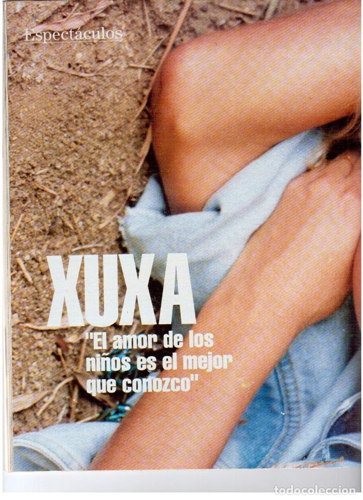 Coleccionismo de Revista Blanco y Negro: 1992. XUXA. ANGELA MOLINA. CRISTINA HIGUERAS. CRISTINA ROSENVINGE. SARA MONTIEL. VER SUMARIO. - Foto 7 - 191149530