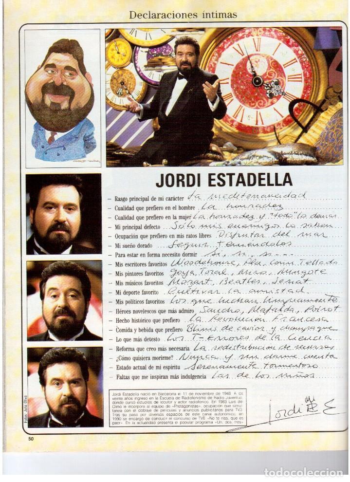 Coleccionismo de Revista Blanco y Negro: 1992. XUXA. ANGELA MOLINA. CRISTINA HIGUERAS. CRISTINA ROSENVINGE. SARA MONTIEL. VER SUMARIO. - Foto 9 - 191149530