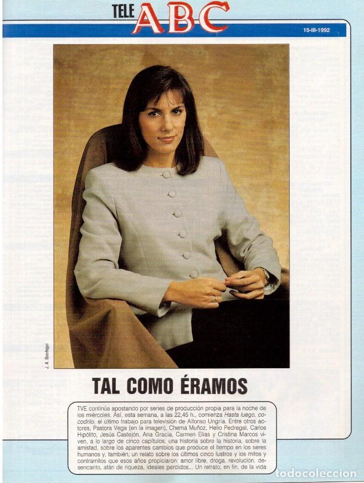 Coleccionismo de Revista Blanco y Negro: 1992. XUXA. ANGELA MOLINA. CRISTINA HIGUERAS. CRISTINA ROSENVINGE. SARA MONTIEL. VER SUMARIO. - Foto 12 - 191149530