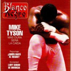 Coleccionismo de Revista Blanco y Negro: 1992. MIKE TYSON. LADY SARAH. MIRIAM REYES. MARTA SÁNCHEZ. CLAUDIO RÓDRIGUEZ. VER SUMARIO.. Lote 143701838