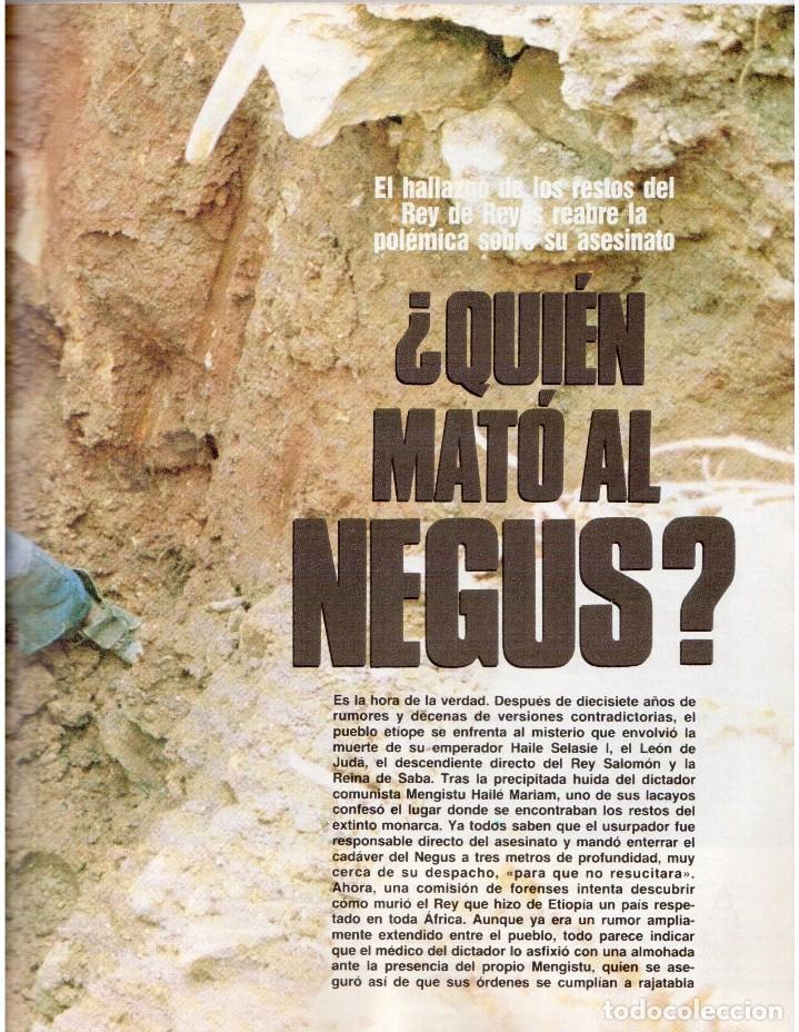 Coleccionismo de Revista Blanco y Negro: 1992. MIKE TYSON. LADY SARAH. MIRIAM REYES. MARTA SÁNCHEZ. CLAUDIO RÓDRIGUEZ. VER SUMARIO. - Foto 6 - 143701838