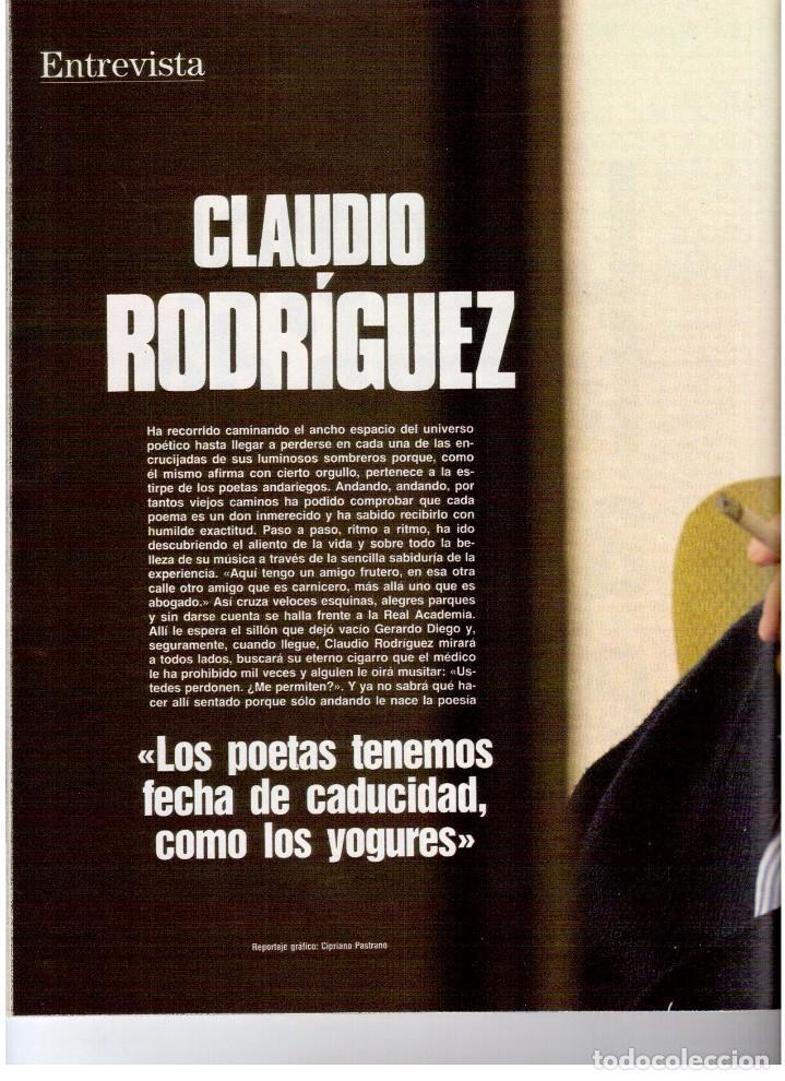 Coleccionismo de Revista Blanco y Negro: 1992. MIKE TYSON. LADY SARAH. MIRIAM REYES. MARTA SÁNCHEZ. CLAUDIO RÓDRIGUEZ. VER SUMARIO. - Foto 8 - 143701838