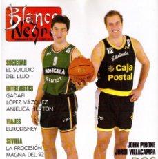 Coleccionismo de Revista Blanco y Negro: 1992. IMÁN. ESTEFANÍA LUIK. ANJELICA HUSTON. JOHN PINONE Y JORDI VILLACAMPA. CAMEL TROPHY. CANNELLE. Lote 143872934