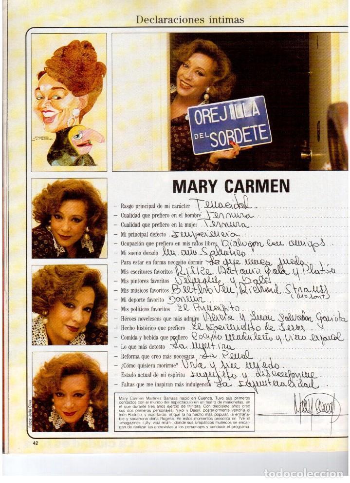Coleccionismo de Revista Blanco y Negro: 1992. IMÁN. ESTEFANÍA LUIK. ANJELICA HUSTON. JOHN PINONE Y JORDI VILLACAMPA. CAMEL TROPHY. CANNELLE - Foto 7 - 143872934