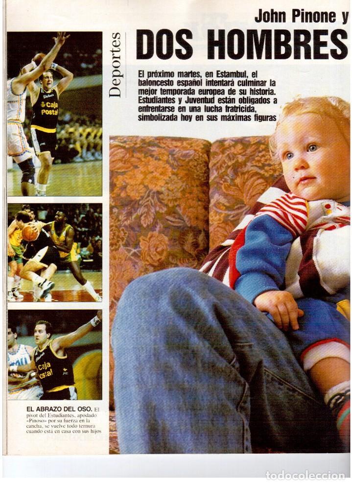Coleccionismo de Revista Blanco y Negro: 1992. IMÁN. ESTEFANÍA LUIK. ANJELICA HUSTON. JOHN PINONE Y JORDI VILLACAMPA. CAMEL TROPHY. CANNELLE - Foto 8 - 143872934