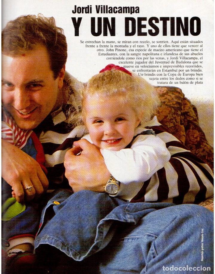 Coleccionismo de Revista Blanco y Negro: 1992. IMÁN. ESTEFANÍA LUIK. ANJELICA HUSTON. JOHN PINONE Y JORDI VILLACAMPA. CAMEL TROPHY. CANNELLE - Foto 9 - 143872934