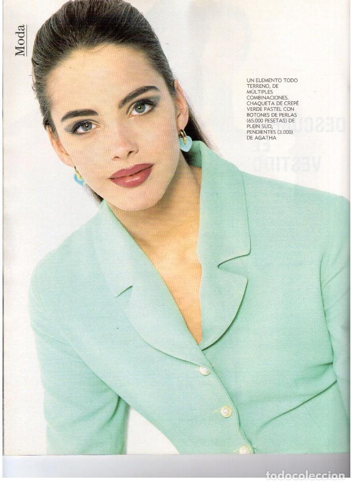 Coleccionismo de Revista Blanco y Negro: 1992. IMÁN. ESTEFANÍA LUIK. ANJELICA HUSTON. JOHN PINONE Y JORDI VILLACAMPA. CAMEL TROPHY. CANNELLE - Foto 12 - 143872934