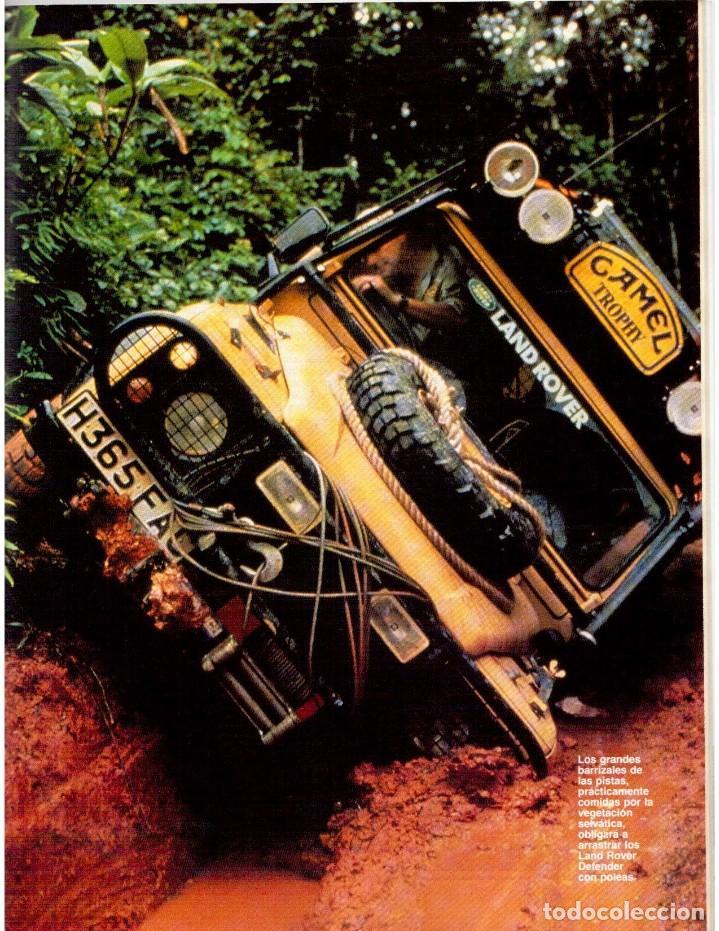 Coleccionismo de Revista Blanco y Negro: 1992. IMÁN. ESTEFANÍA LUIK. ANJELICA HUSTON. JOHN PINONE Y JORDI VILLACAMPA. CAMEL TROPHY. CANNELLE - Foto 14 - 143872934