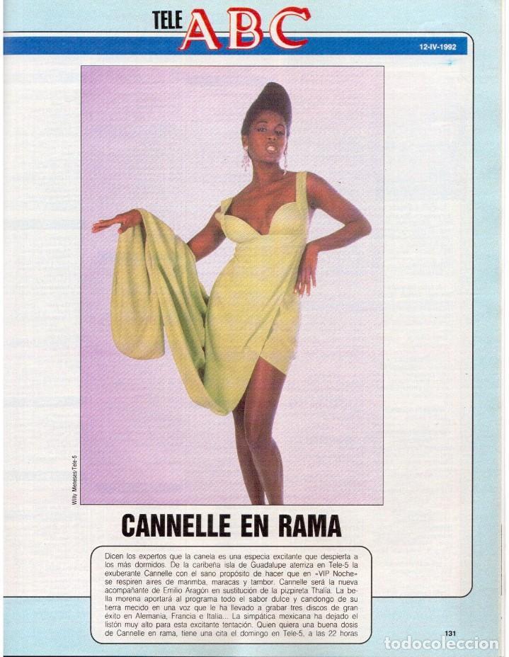 Coleccionismo de Revista Blanco y Negro: 1992. IMÁN. ESTEFANÍA LUIK. ANJELICA HUSTON. JOHN PINONE Y JORDI VILLACAMPA. CAMEL TROPHY. CANNELLE - Foto 15 - 143872934