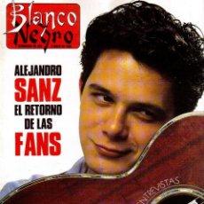 Coleccionismo de Revista Blanco y Negro: 1992. ALEJANDRO SANZ. MECANO. COQUE MALLA. CANELLE. MARK KNOPFLER. RICCARDO PATRESE. ISABEL PANTOJA.. Lote 143879394