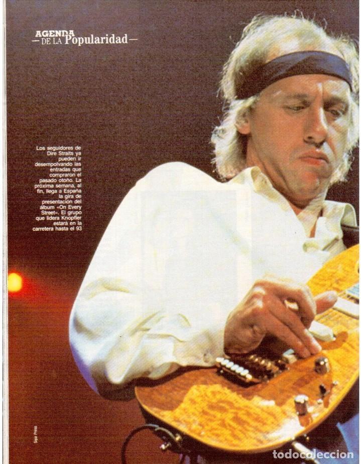 Coleccionismo de Revista Blanco y Negro: 1992. ALEJANDRO SANZ. mecano. coque malla. canelle. MARK KNOPFLER. RICCARDO PATRESE. ISABEL PANTOJA. - Foto 5 - 143879394