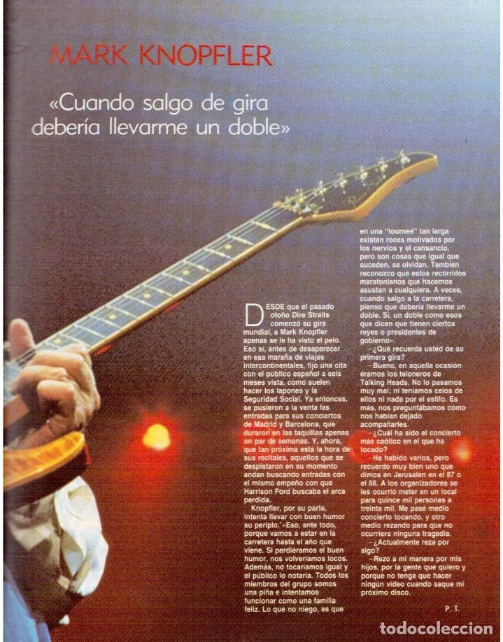 Coleccionismo de Revista Blanco y Negro: 1992. ALEJANDRO SANZ. mecano. coque malla. canelle. MARK KNOPFLER. RICCARDO PATRESE. ISABEL PANTOJA. - Foto 6 - 143879394