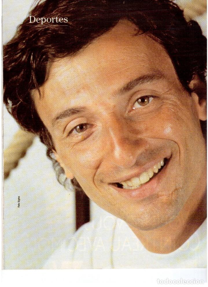 Coleccionismo de Revista Blanco y Negro: 1992. ALEJANDRO SANZ. mecano. coque malla. canelle. MARK KNOPFLER. RICCARDO PATRESE. ISABEL PANTOJA. - Foto 7 - 143879394