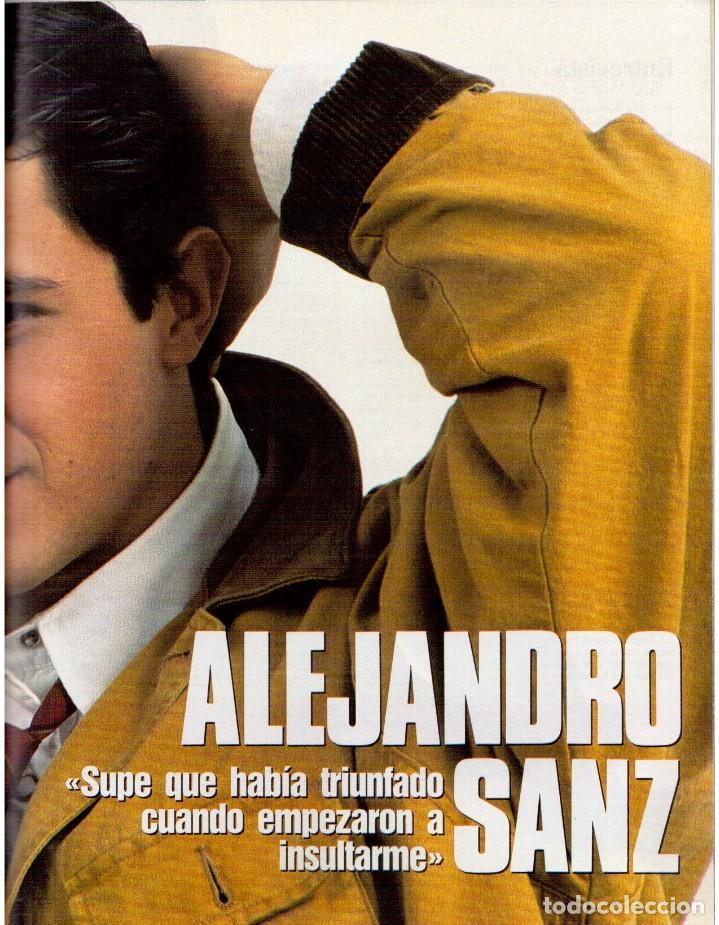 Coleccionismo de Revista Blanco y Negro: 1992. ALEJANDRO SANZ. mecano. coque malla. canelle. MARK KNOPFLER. RICCARDO PATRESE. ISABEL PANTOJA. - Foto 11 - 143879394