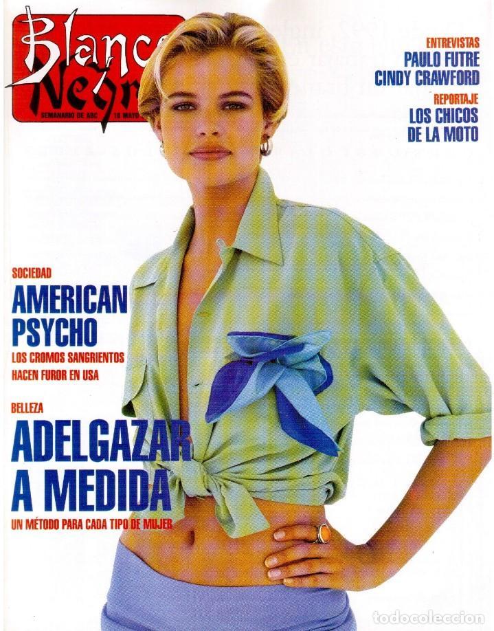 1992. RAFAEL MONEO. JUAN MANUEL SERRAT. CINDY CRAWFORD. AMERICAN PSYCHO. MARTA SÁNCHEZ. GILDA. VER (Coleccionismo - Revistas y Periódicos Modernos (a partir de 1.940) - Blanco y Negro)