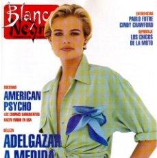 Coleccionismo de Revista Blanco y Negro: 1992. RAFAEL MONEO. JUAN MANUEL SERRAT. CINDY CRAWFORD. AMERICAN PSYCHO. MARTA SÁNCHEZ. GILDA. VER. Lote 143881842