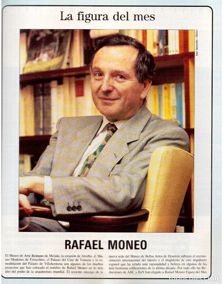 Coleccionismo de Revista Blanco y Negro: 1992. RAFAEL MONEO. JUAN MANUEL SERRAT. CINDY CRAWFORD. AMERICAN PSYCHO. MARTA SÁNCHEZ. GILDA. VER - Foto 3 - 143881842