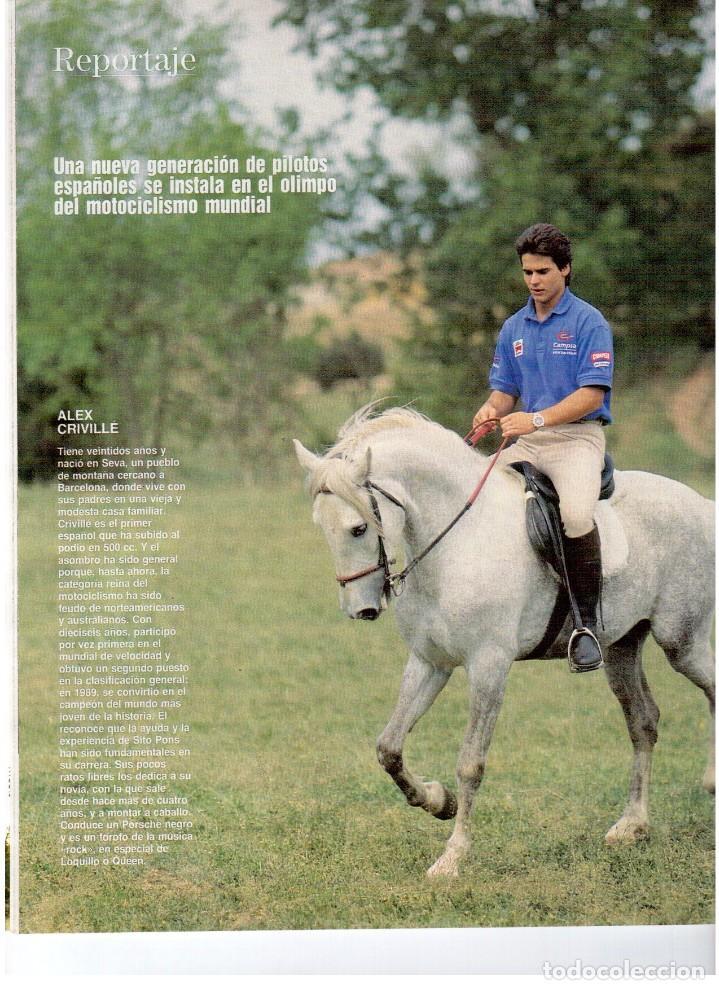 Coleccionismo de Revista Blanco y Negro: 1992. RAFAEL MONEO. JUAN MANUEL SERRAT. CINDY CRAWFORD. AMERICAN PSYCHO. MARTA SÁNCHEZ. GILDA. VER - Foto 4 - 143881842