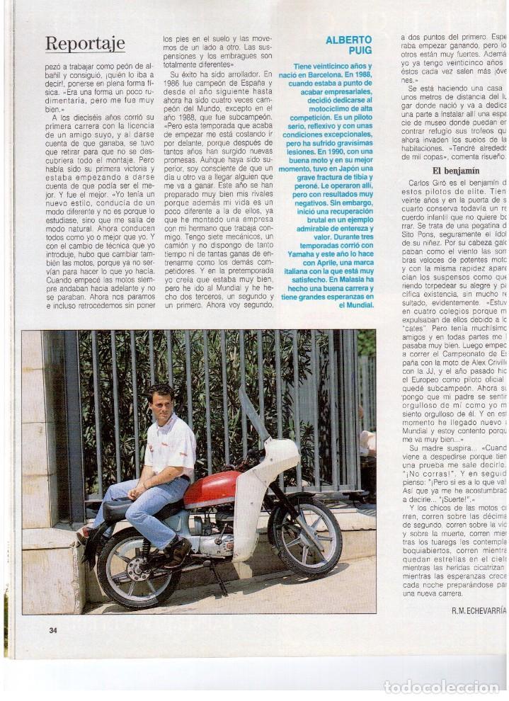 Coleccionismo de Revista Blanco y Negro: 1992. RAFAEL MONEO. JUAN MANUEL SERRAT. CINDY CRAWFORD. AMERICAN PSYCHO. MARTA SÁNCHEZ. GILDA. VER - Foto 8 - 143881842