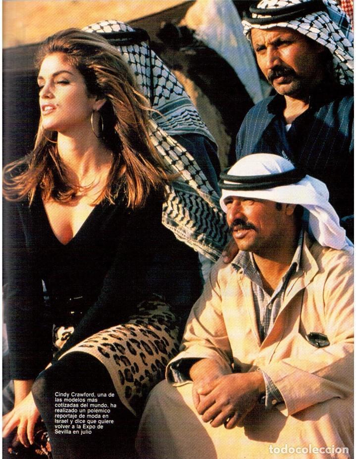 Coleccionismo de Revista Blanco y Negro: 1992. RAFAEL MONEO. JUAN MANUEL SERRAT. CINDY CRAWFORD. AMERICAN PSYCHO. MARTA SÁNCHEZ. GILDA. VER - Foto 10 - 143881842