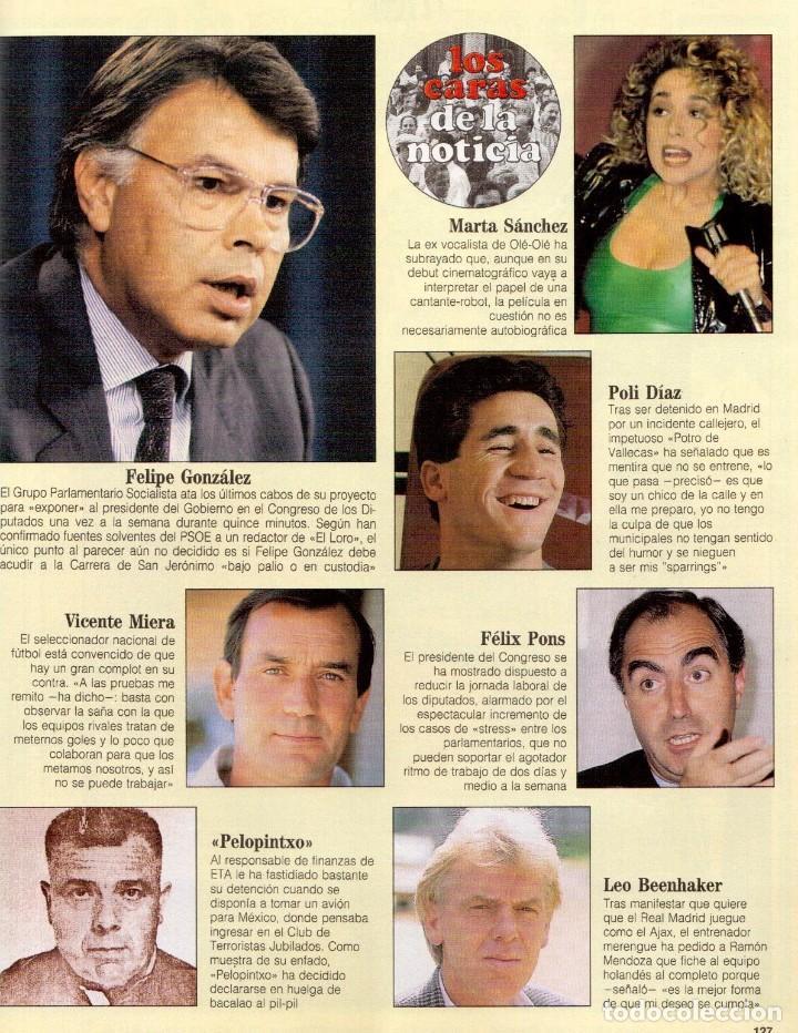 Coleccionismo de Revista Blanco y Negro: 1992. RAFAEL MONEO. JUAN MANUEL SERRAT. CINDY CRAWFORD. AMERICAN PSYCHO. MARTA SÁNCHEZ. GILDA. VER - Foto 14 - 143881842