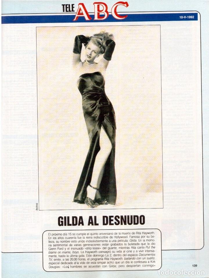 Coleccionismo de Revista Blanco y Negro: 1992. RAFAEL MONEO. JUAN MANUEL SERRAT. CINDY CRAWFORD. AMERICAN PSYCHO. MARTA SÁNCHEZ. GILDA. VER - Foto 15 - 143881842