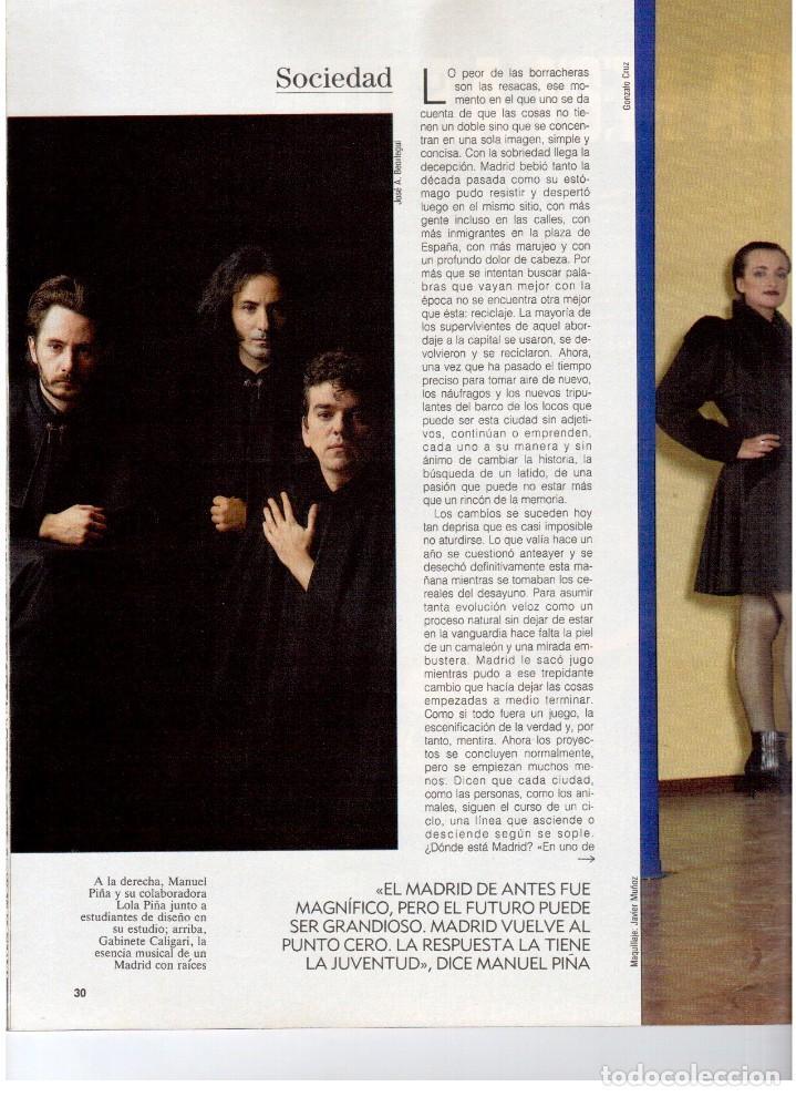 Coleccionismo de Revista Blanco y Negro: 1992. GABINETE CALIGARI. BORJA CASANI. GARCÍA-ALIX. CEESEPE. ANA OBREGÓN. BEATRICE DAILE. VER - Foto 3 - 143882946