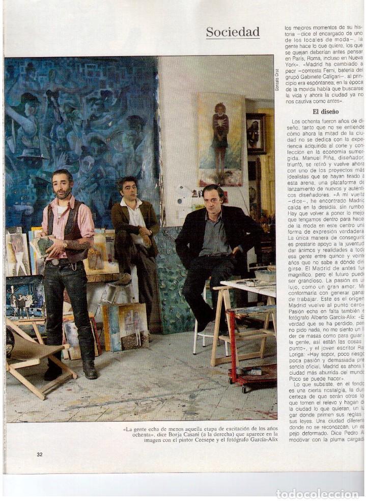 Coleccionismo de Revista Blanco y Negro: 1992. GABINETE CALIGARI. BORJA CASANI. GARCÍA-ALIX. CEESEPE. ANA OBREGÓN. BEATRICE DAILE. VER - Foto 4 - 143882946